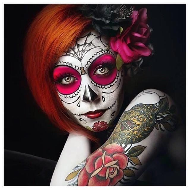 Kittie Lombardo Facepaint