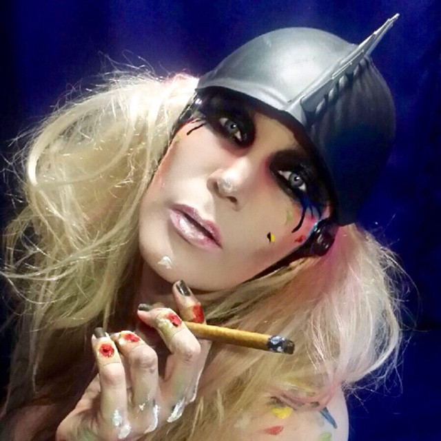 Kittie Lombardo Body Paint Entertainment