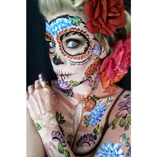 Kittie Lombardo Body Paint Artist