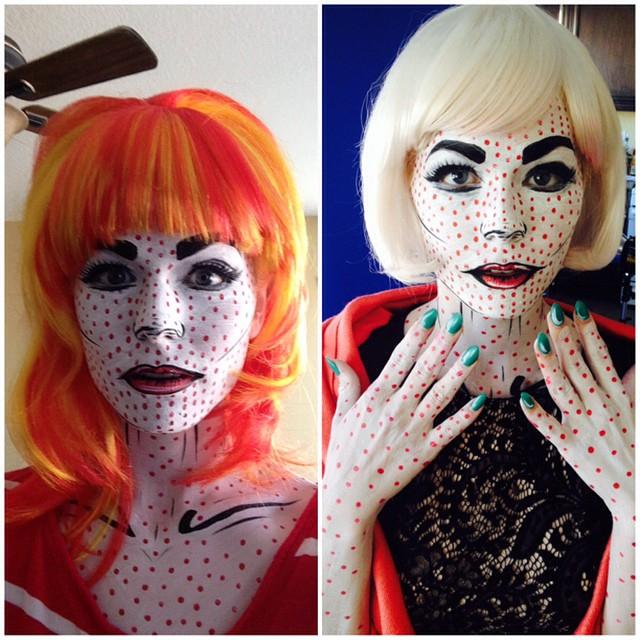 Kittie Lombardo Comicbook Makeup
